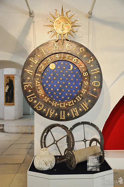 Clock of Ivan the Terrible in Byzantine Style