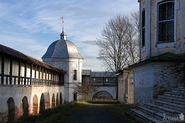 The Fortified Walls and Towers of Goritsky Monastery