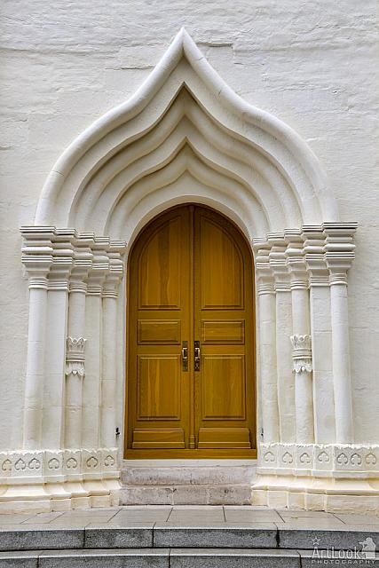 The Ogee-Arched Doorway into the Church of the Holy Spirit