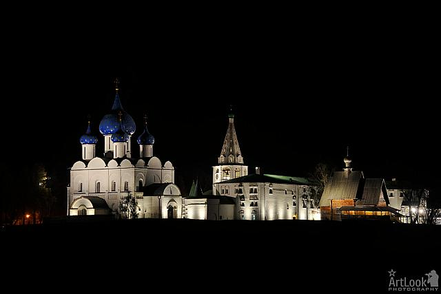 The Suzdal Kremlin at Night