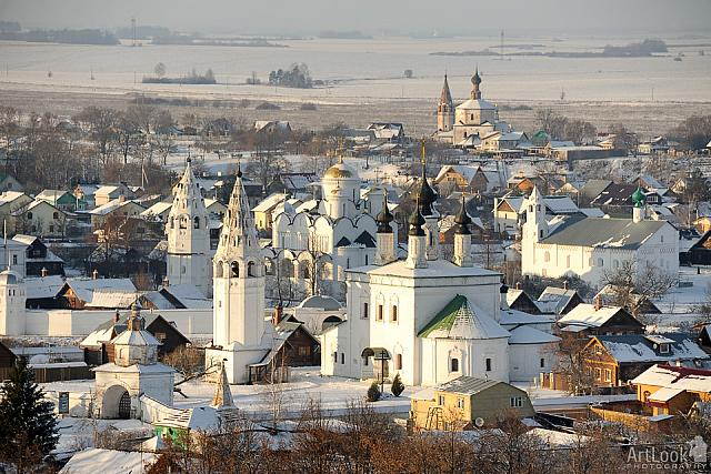 Suzdal Monasteries: Snow-Covered City of Churches