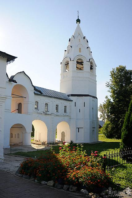 Tent-Roof Bell Tower with Enclosed Gallery