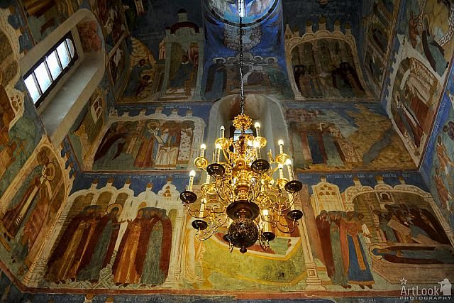 Decoration of St. Euthymius' Side Chapel