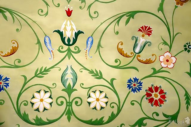 Floral Ornaments in Tsarina's Chambers