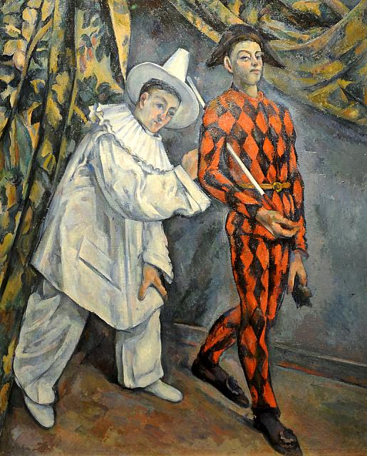 Pierrot and Harlequin [Mardi-Gras] (1888-1890)