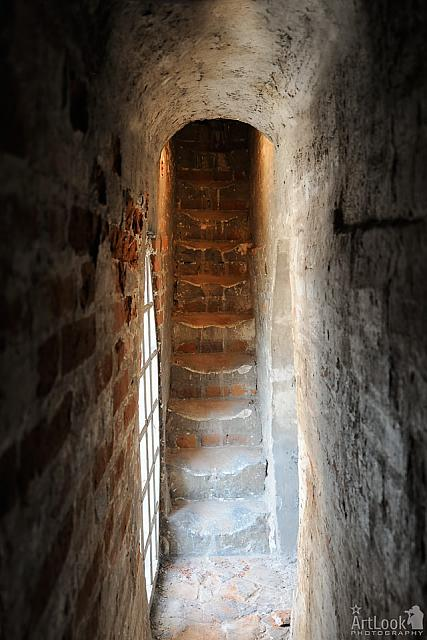 Narrow and Steep Staircase to the Church Roof & Belfry