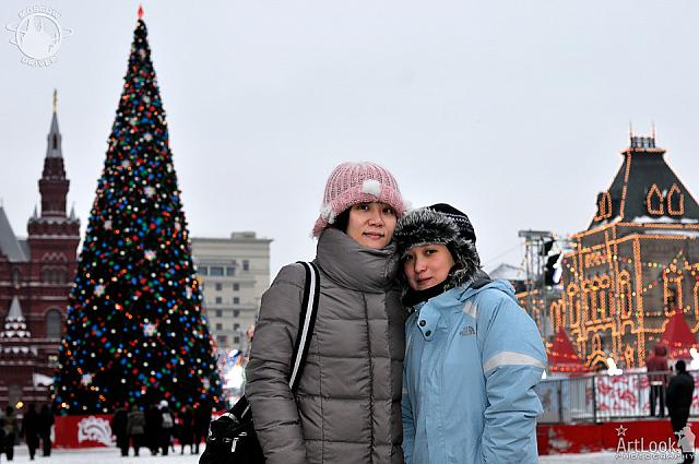 On Red Square before Christmas