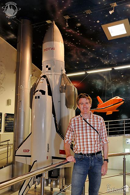 At Mockup of Energia-Buran Space System