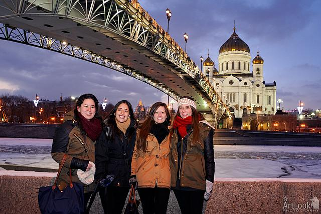 At the End of Moscow City Tour