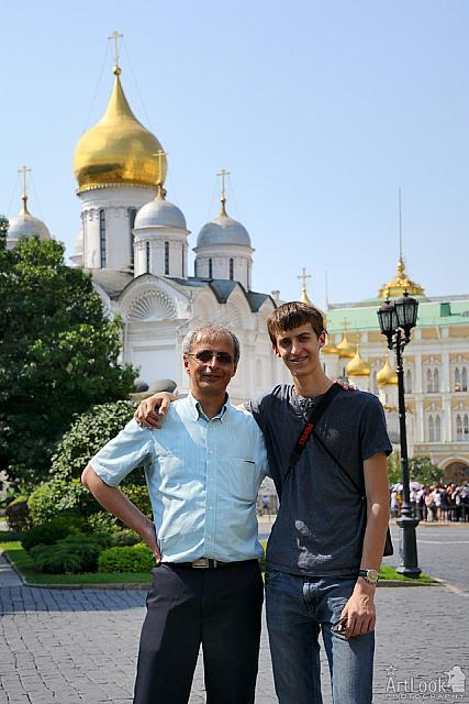 On the Ivan the Great Square of Moscow Kremlin