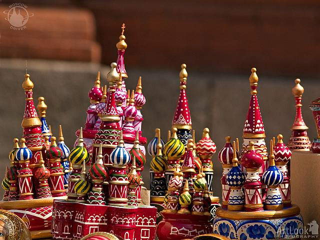 "Colorful Music Boxes ""St. Basil's cathedral"""