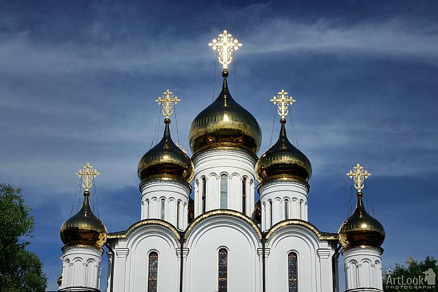 Shining Golden Domes of St. Nicholas Church (Pereslavl-Zalessky)