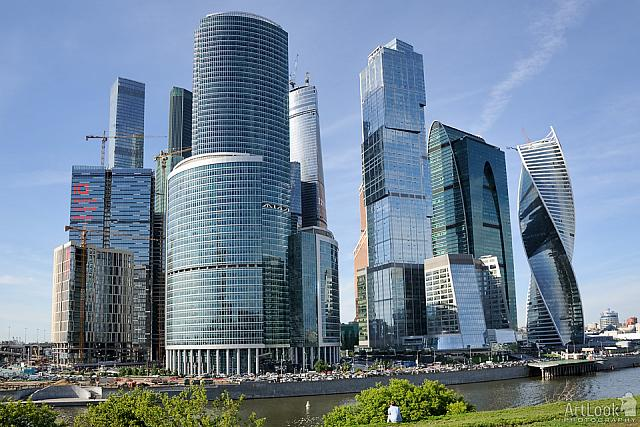 Moskva-City – The Modern Financial District of Moscow