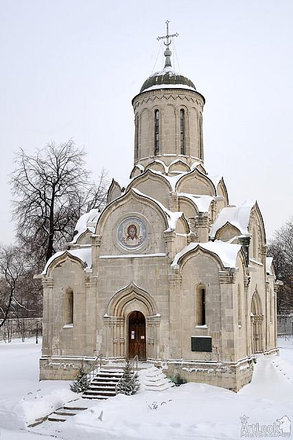 The Cathedral of the Savior in Snow