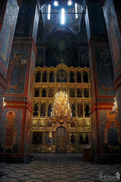 Grandeur Interior of Smolensk Cathedral