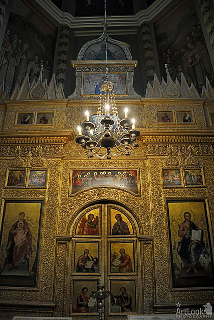 Iconostasis of the Chapel of St. Nicholas