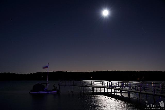 Moonlight on the Istra Reservoir - Avantel Club Istra