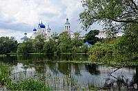 View of Bogolyubovo Convent from Monastery Pond