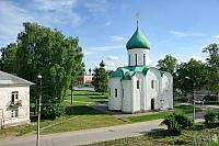Panorama of the Most Ancient Stone Church of Old Russia