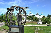 "Monument ""Miracle of the Birds"" to St. Sergius on Blinnaya Hill"