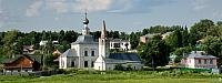 Suzdal Landscapes - Wooden Houses and Stone Churches