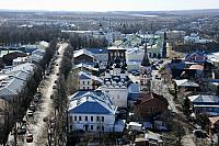 Panoramas from bell tower of Ryzopolozhensky Convent
