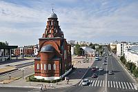 Panorama of the Trinity Church and Dvoryanskaya Street