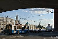 Under Bolshoi Moskvoretsky Bridge