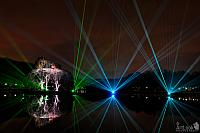 Laser Show on Tsaritsyno Pond