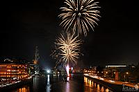 Fireworks in Honor of Saint Petersburg's 313th Anniversary