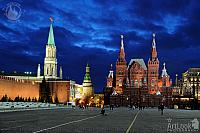 Moscow Night Tour Under Dramatic Skies