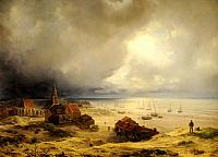 The Coast of Scheveningen (1844)