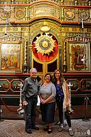 In front of Iconostasis of Intercession Chapel (St. Basils' Cathedral)