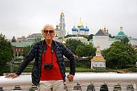 At the Sergiyev Posad Observation Deck