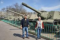 At The Row with Soviet Tanks