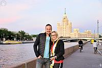 At Raushskaya Embankment in Sweet Light