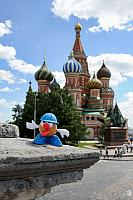 Mr. Potato on the Red Square