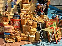 Baskets from Birch Bark