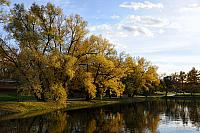 Beautiful Autumn Day at Novodevichy