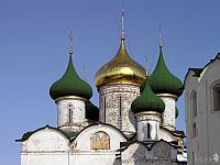 Domes of Savior's Transfiguration Cathedral (Suzdal)