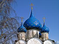 Nativity's Blue Domes (Suzdal)