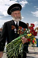 WWII Veteran in Victory Park (Moscow)