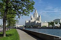 Kosmodamianskaya Embankment and Stalin's Skyscraper