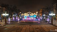 New Year's Fairy Tale Forest in Pushkinskaya Square