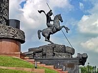 St. George Slaying the Dragon on Poklonnaya Hill