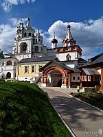 Spectacular Towers of Savva-Storozhevsky Monastery