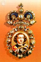 Breastplate with the portrait of Tsar Peter the Great