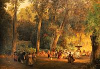 In the Park of Villa Torlonia (1878-1880)