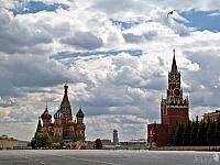 Flight over Red Square