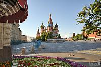 St. Basil's Cathedral in Early Summer Morning